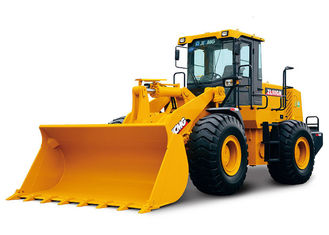 China Z Bar Linkage ZL50G Compact Utility Front End Loader for Garden Tractor 18t Operating Weight supplier