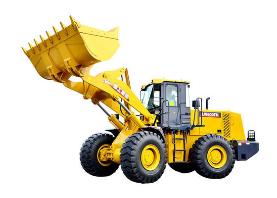 China 3.5 CBM Rated Bucket XCMG Front End Wheel Loader Machine LW600FN With175 KW Diesel Engine supplier