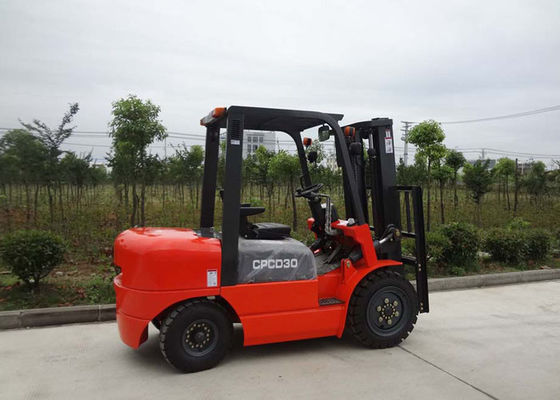 China Automatic Transmission Power Lift Forklift , Industrial Pallet Handling Equipment supplier