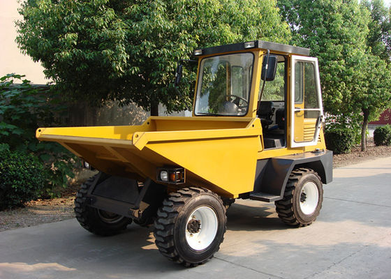China Closed Cabin Full Automatically Tipped Concrete Dumper For Transportation / Loading / Dumping supplier