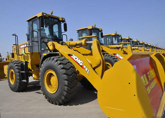 China Compact Truck Loader With LNG Weichai Engine , 5t 3CBM Bucket  XCMG Tractor Front End Loaders supplier