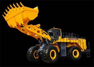 China Low Emission Cummins Engine Heavy Front End XCMG Wheel Loader LW1200KN supplier