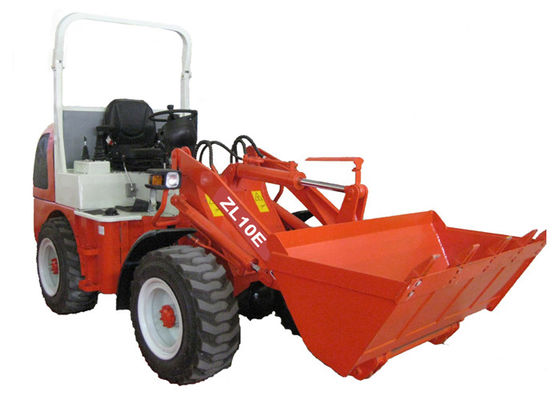 China 1000 kg Rated load 0.5M3 Bucket Mini Front End Wheel Loader ZL10F with Quick Coupler supplier