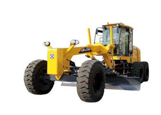 China XCMG GR230 Motor Grader Machine for Ditch Digging / Slope Leveling / Snow Removing supplier