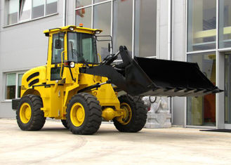China 2T Load Weight Hydraulic Wheel Loader with Power Shift and Electric Shift Optional Transmission supplier
