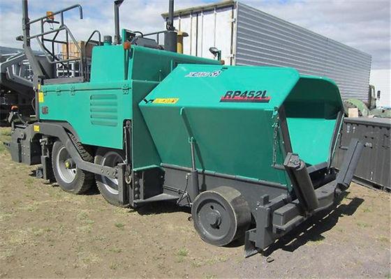 China 4 Wheel Full Hydraulic Driving Small Asphalt Laying Machine for Road Pavements supplier