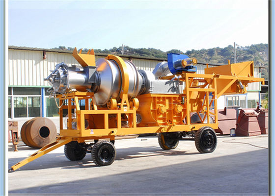 China Adjustable Temperature Asphalt Batching Plant For Highway / Airport / Runway Construction supplier
