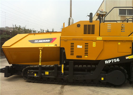 China 140KW Diesel Engine XCMG Concrete Asphalt Paver Machine With 330mm Pacing Thickness supplier