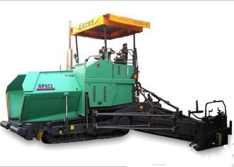 China 4 Tons Hopper Capacity Asphalt Paver Machine , Deutz 140KW Diesel Asphalt Paving Equipment Rental  supplier