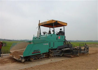 China 9.5m Width 350mm Paving Thickness Caterpillar Asphalt Paver for Asphalt / Concrete Road supplier