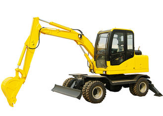 China Hydraulic Wheel Loader Excavator for Rural Reconstruction / City Greening / Mining Use Ditches supplier