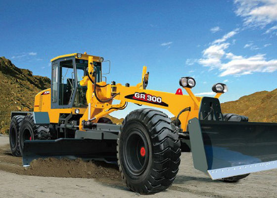 China 300HP 26Ton XCMG Motor Grader Machine With Cummins Engine Rexroth Hydraulic Components supplier