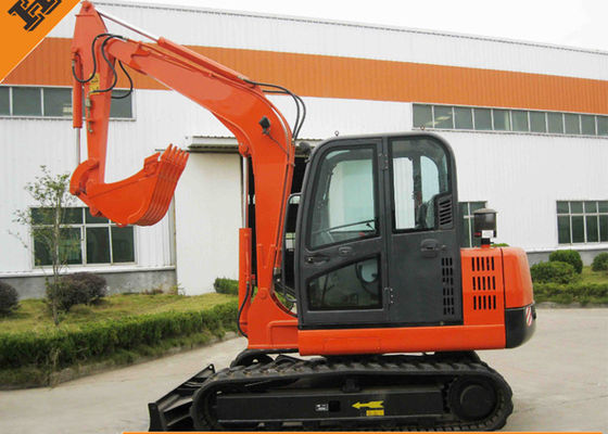China 45.3KW Diesel Engine Heavy Equipment Excavator , Hydraulic Attachments Excavators supplier
