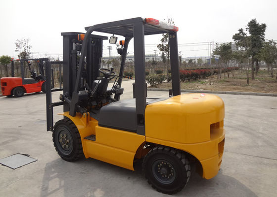 China Hydraulic Industrial Forklift Truck , Full Automatic Stepless Speed Adjustable Electric Forklift Truck supplier