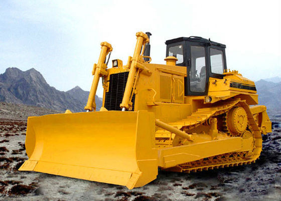 China Soil Stone Construction Big Crawler Bulldozer with Pilot Hydraulic Controlling Blade Operation supplier