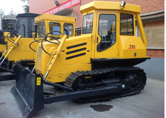 China 4F+2R Fixed Shaft Mechanical Gearbox  Small Crawler Dozer T80 for Narrow Ground Construction supplier
