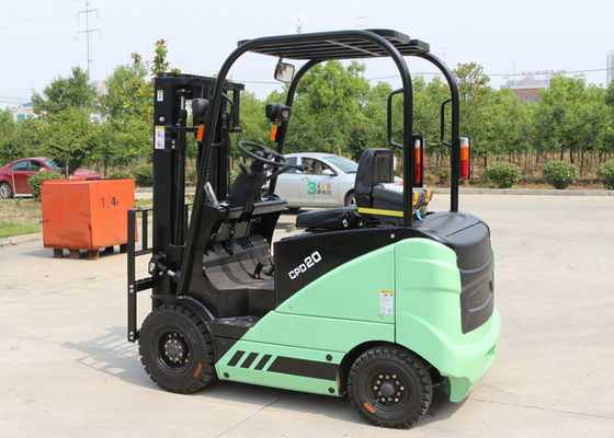 China Electric Battery Operated Industrial Forklift Truck With 3000MM Lifting Height 3950KG Operating Weight supplier