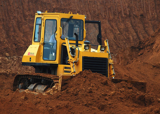 China Middle Crawler Bulldozer 130HP Power for Engineering Construction / Mining Project YD130 supplier