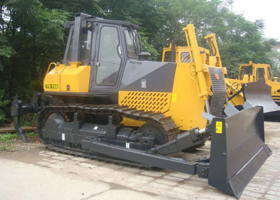 China Crawler Heavy Compact Bulldozer with Blade and Ripper Pilot Control Hydraulic Transmission supplier