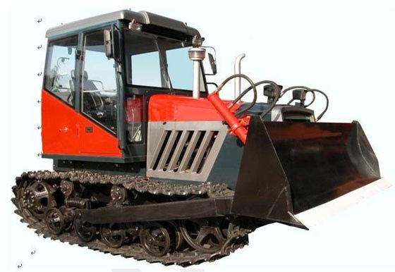 China Diesel Engine Steel / Rubber Track Mini Crawler Bulldozer for Agriculture Use supplier