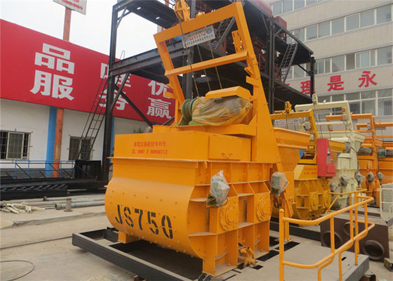 China Light Aggregate Concrete Mixer Rental , Electric 750L Foam Concrete Mixer 380V / 50HZ supplier