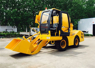 China 3000L Mixing Capacity Self - Loading Concrete Mixer Machine For Concrete Mixing Works supplier