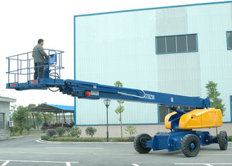 China Diesel 36M Telescopic Hydraulic Boom Lift for Self Propelled Aerial Work 480KG Load Capacity supplier