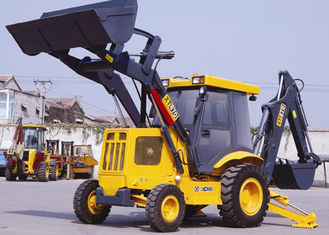 China 70KW Power Tractor Backhoe Loader  XT870 , 0.3 m3 Rated Digging Backhoe Machine supplier