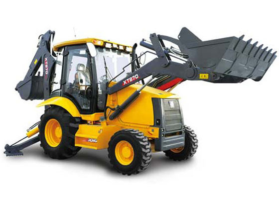 China Construction Project Big Compact Tractor Loader Backhoe 21 Mpa Max Systemic Pressure supplier