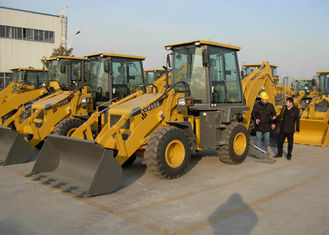 China Water Cooling Engine Compact Tractors with Backhoe and Loader ,  Backhoe Loader Tractor supplier