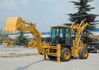 China Mini WD Compact Backhoe Loader WZ30-25 With 0.65m3 Loading Capacity 0.1M3 Digging Capacity supplier