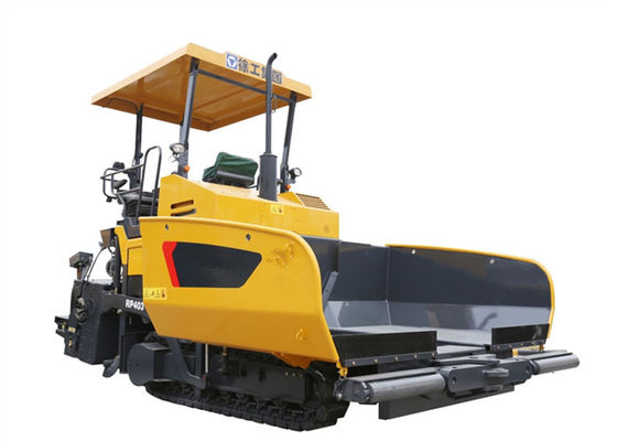 China XCMG Concrete Asphalt Paver Machine Rental , 12 tons Hopper Capacity Road Paving Machine supplier