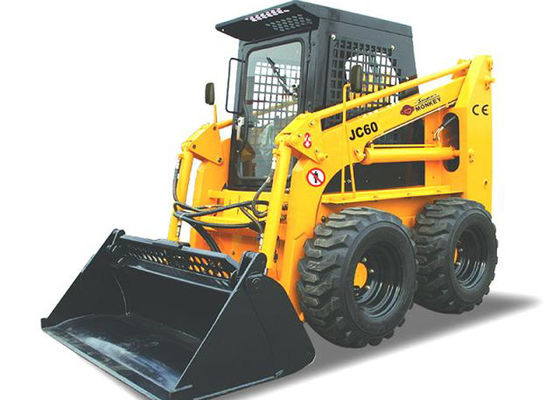 China 4WD All Wheel Steer Skid Steer With Bobcat Attachments Operating Weight 3240kg 60HP Power supplier