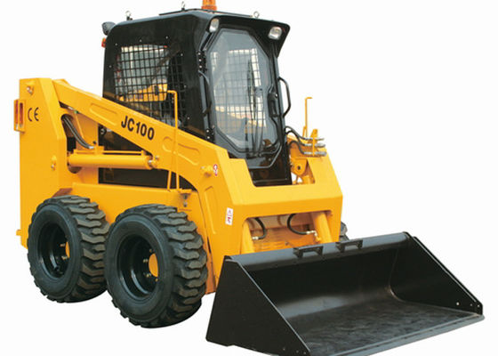 China 3.1 Meters Work Arm Bobcat Skid Steer Compact Track Loaders 100HP Power 3800 Kg Weight supplier