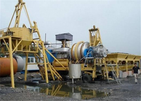 China Auto Manual Switchable Mobile Asphalt Mixing Plant for Bitumen / Aggregate Material supplier