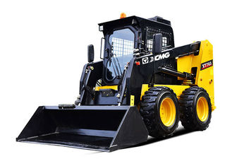China Compact Type XCMG Big Skid Steer Loader with All Wheel Drive and Skid Steering supplier