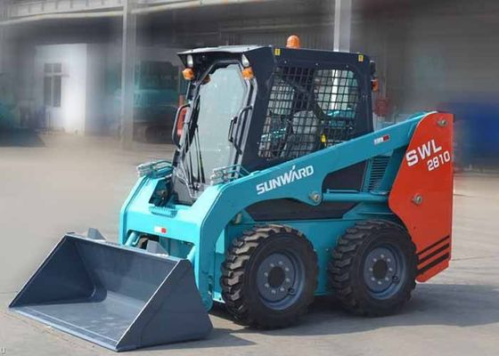 China 40KW Power Middle Skid Steer Equipment SUNWARD Brand Full Hydraulic System supplier