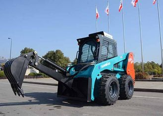 China Full Hydraulic System Big Skid Steer Loader 75HP Power 950kg Load Capacity supplier