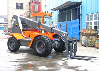 China 4 Ton Multifunction Diesel Telescopic Boom Forklift With Two Quadrangle Telescopic Arm supplier