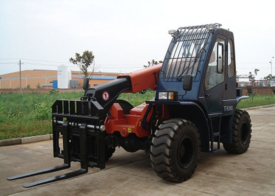 China 12500KG Operating Weight​ Telescoping Boom Forklift , 5 Ton 10M Extended Boom Forklift supplier