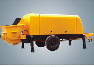 China 80m3/h Electric Trailer Concrete Pump For Light Weight Foamed Cement / Mortar supplier