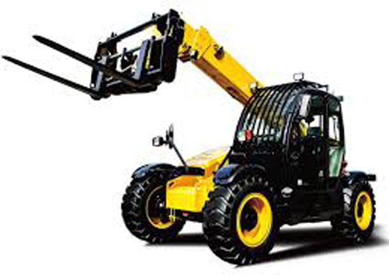 China Fully Sealed Wet Multi Disc Brakes Extendable Boom Forklift for Construction Building Lifting supplier