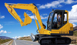 China Yanmar Diesel Engine Heavy Equipment Excavator Hydraulic SGS / CE supplier