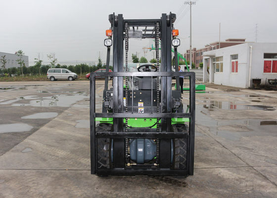 China 3 Ton Industrial Forklift Truck , Diesel Engine Forklift With 3000MM Max Lifting Height supplier