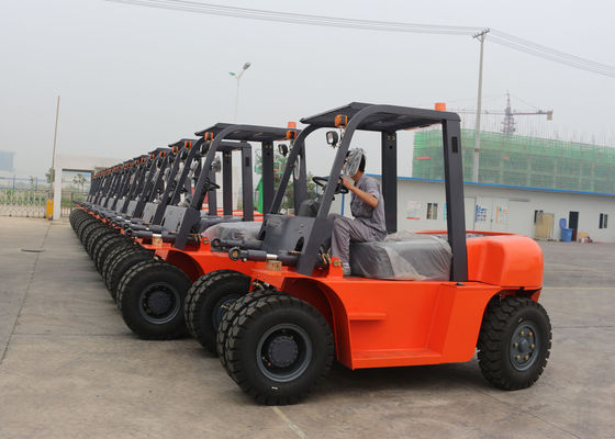 China Heavy Duty Industrial Forklift Truck Material Handling Equipment , ISO supplier