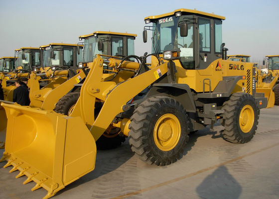 China 92KW Rated Power Wheel Front End Loader High Full - Load Coefficient supplier