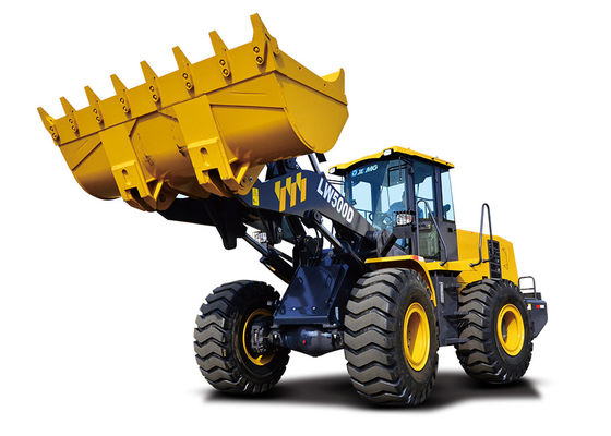 China 16200KG Operating Weight Front End Wheel Loader , XCMG Wheel Loader for Garden Tractor supplier