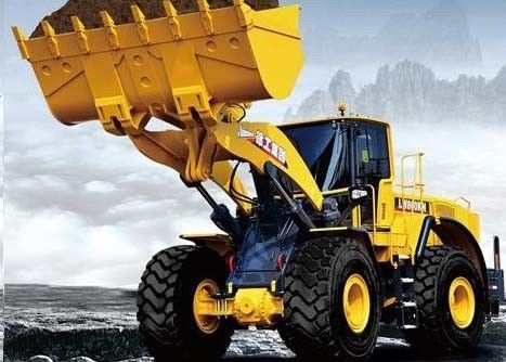 China Mechanical Control Front End Wheel Loader for Earth Moving Project / Coal Loading supplier