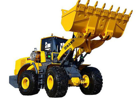 China High Effective Tractor Front End Wheel Loader 7 Ton Rated Loading Weight supplier