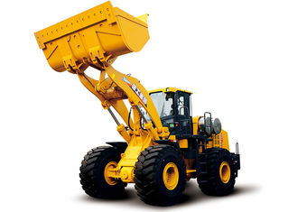 China Big Capacity 8 Ton Front End Wheel Loader Machine For Garden Tractor supplier